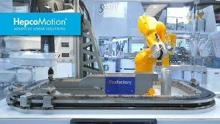 GFX Aplicación de Manipulación de Alta Velocidad | HepcoMotion-Stäubli