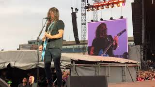 Foo Fighters - My Hero live @ Hamburg, Trabrennbahn, 10.06.2018