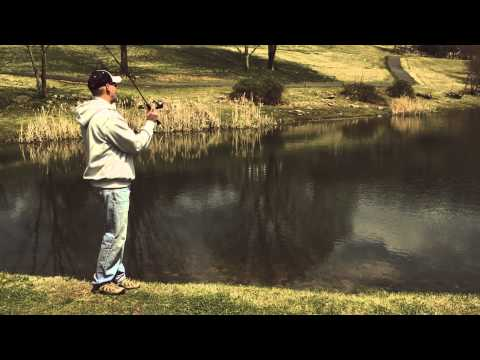 How to cast a triggerspin reel by Zebco