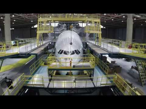 Watch A 55-Day Overhaul Of The Largest Passenger Plane In Two Minutes