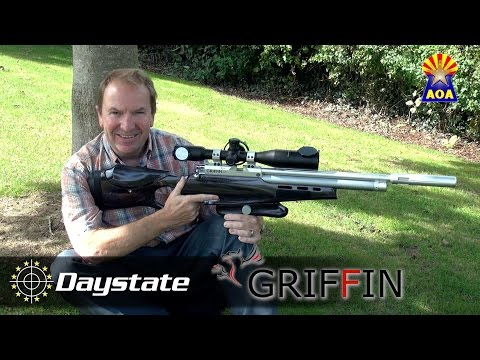 Daystate Griffin FT Rifle w/ Tony Belas