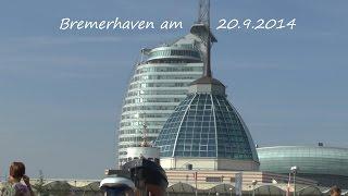 preview picture of video 'Tagesausflug von Duhnen nach Bremerhaven am 20. 9. 2014 von tubehorst1'
