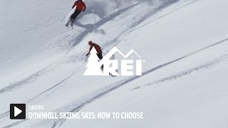 Downhill Skiing Skis: How to Choose