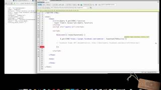 INTRO to jQUERY's .getJSON() FUNCTION - Super Simple Javascript/jQuery Tutorials