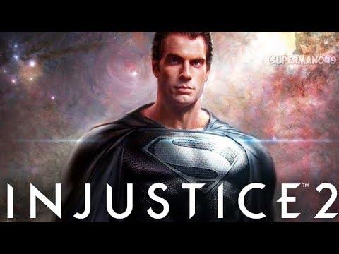 JUSTICE LEAGUE Black Suit Superman! - Injustice 2