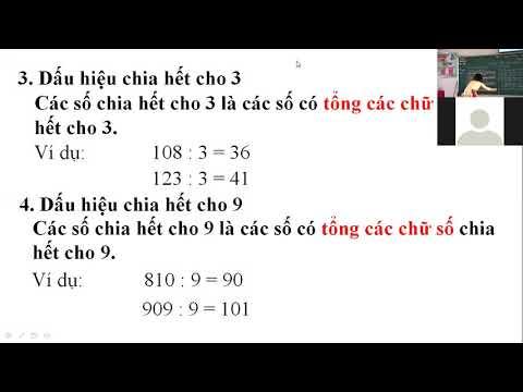 Toán 4 - Dấu hiệu chia hết cho 2,5,3,9 - Nguyễn Thị Hường - Trường TH Bắc Mục