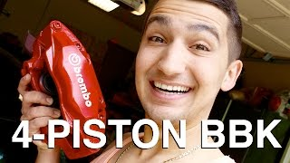 How to Build a 4 Piston BBK on the Cheap!!!