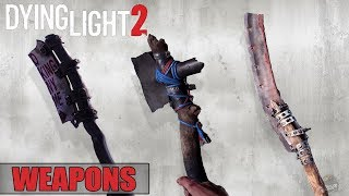 Dying Light 2 - New Weapon Category   Hatchet , Crossbow , Spear And Bow   E3 2018
