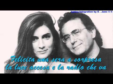"Albano Carrisi & Romina Power ~"" FELICITA ""  With Lyric s[HD]"