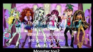 Monster High Theme Song Lyrics