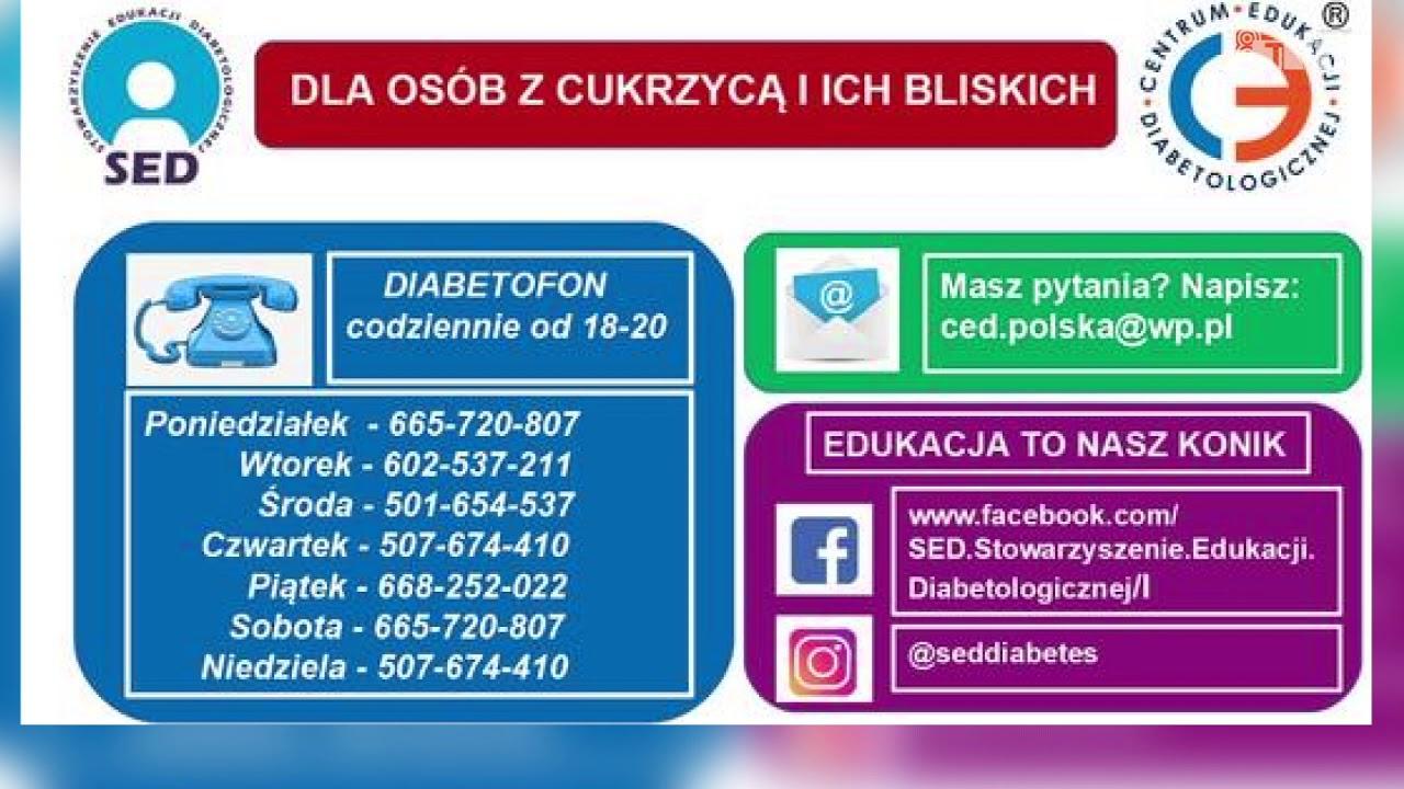 Diabetofon – infolinia dla chorych na cukrzycę