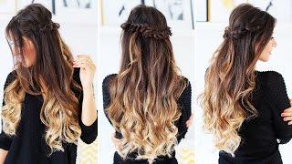 Half-Up Loop Braid | Luxy Hair