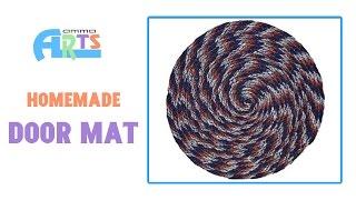 Homemade Door Mat Making - Handmade Crafts In Amma Arts
