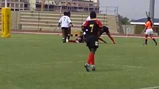 preview picture of video 'Uganda vs Botswana CAR 7s 2011.mp4'