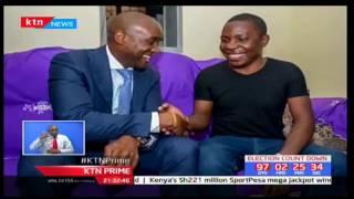 Sportpesa Mega Jackpot winner revealed at a red-carpet ceremony at carnivore restaurant in Nairobi