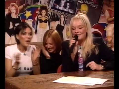 Emma Bunton   Where did our love go live @ TFI Friday Show