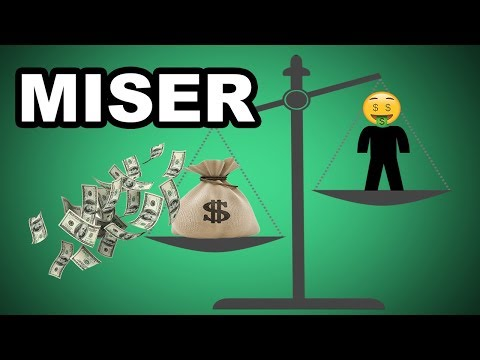 Learn English Words - MISER - Meaning, Vocabulary with Pictures and Examples