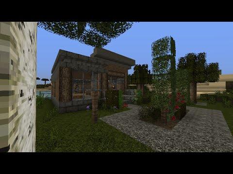 Minecraft Modern Survival House Minecraft Project