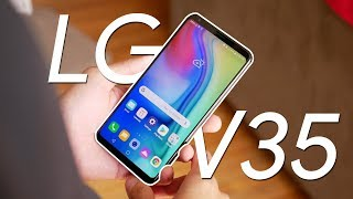 LG V35 ThinQ hands-on: say hello to portrait mode