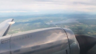 Air Norway Oslo-Fagernes Fairchild SA-227DC Metroliner Takeoff, Inflight & Landing