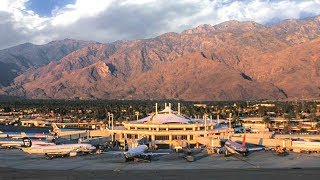 A Walk Around The Palm Springs International Airport