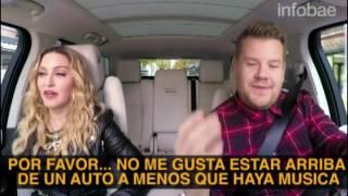 Madonna Carpool Karaoke subtítulos en español