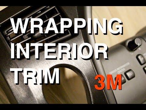 How to Vinyl Wrap Interior Trim Pieces (3M Brushed Aluminum)