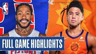 PISTONS At SUNS | FULL GAME HIGHLIGHTS | February 28, 2020