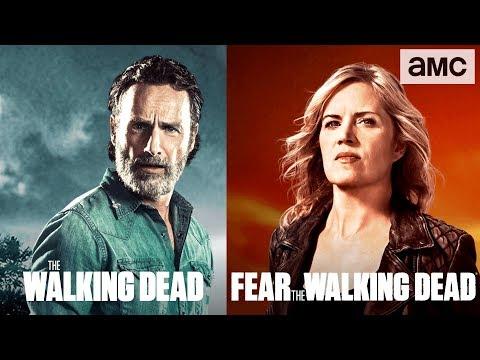 The Walking Dead Season 8 Crossover Promo 'Survival Sunday'