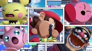 Every Character's Screen KO in Super Smash Bros Ultimate