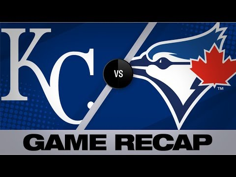 Late homers push Blue Jays past Royals, 6-2 | Royals-Blue Jays Game Highlights 6/28/19
