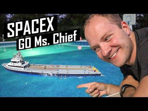 Nová loď SpaceX pro chytání aerodynamických krytů