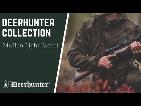 Костюм Deerhunter Muflon Light Camo Edge (лес) Video #1