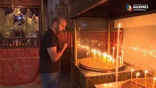 Biserica Naşterii Domnului din Betleem a fost redeschisă