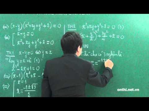 Chương 2-Bài 1-Phương trình, bất phương trình chứa căn (p1)
