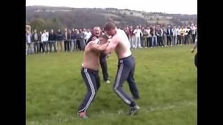 Bare knuckle - Boxer VS Kickboxer - Copyright Footage - Mad Frankie Fraser pick