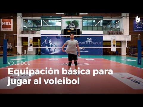 Equipación básica para jugar | Voleibol