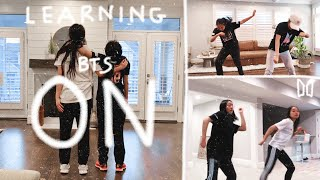 learn BTS 'ON' with us!!   learning BTS 'ON' choreo in one week!
