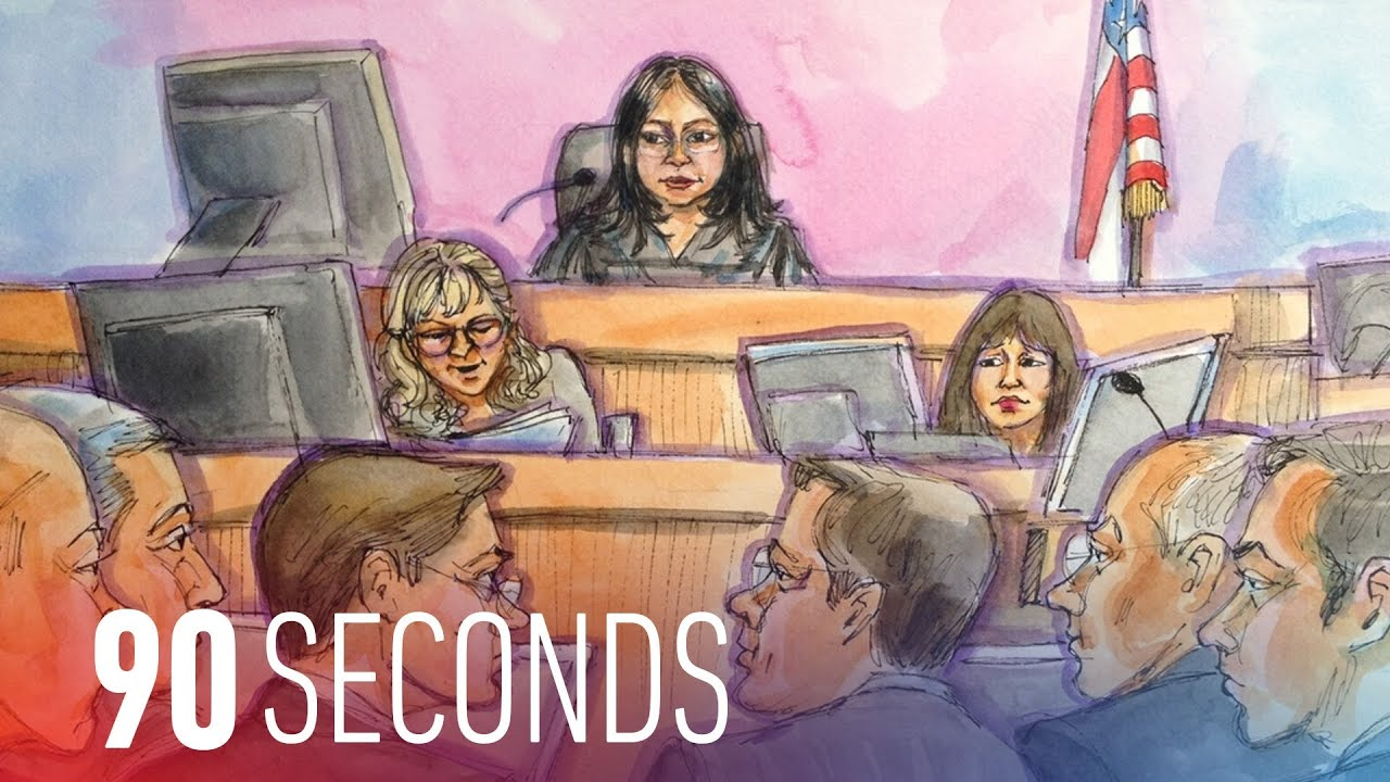 Apple and Samsung prepare for another billion dollar patent war: 90 Seconds on The Verge thumbnail