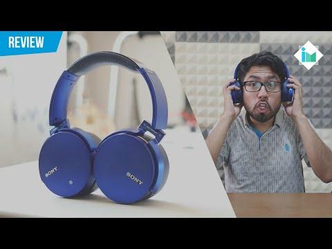 Los audífonos más potentes que he probado - Sony MDR-XB950B1 | Review