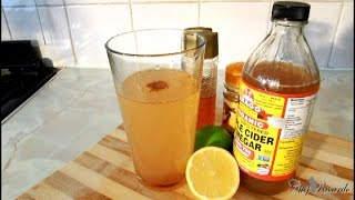 Weightloss And Detox Apple Cider Vinegar Drink   Recipes By Chef Ricardo