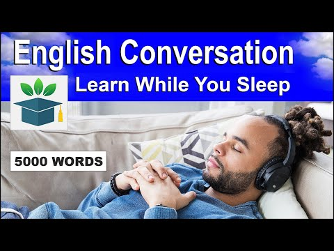 Download English Conversation; Learn while you Sleep with 5000 words Mp4 HD Video and MP3