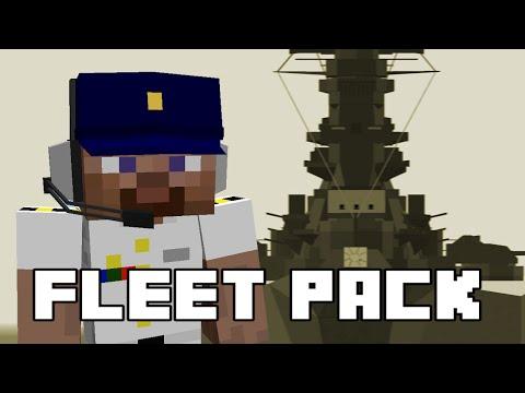 Fleet Pack 1 0 - Flan's mod content pack Minecraft Mod