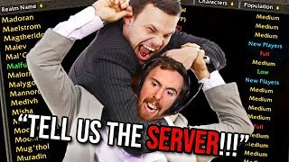 Everyone's MAD At Asmongold For Not Announcing His Classic WoW Server