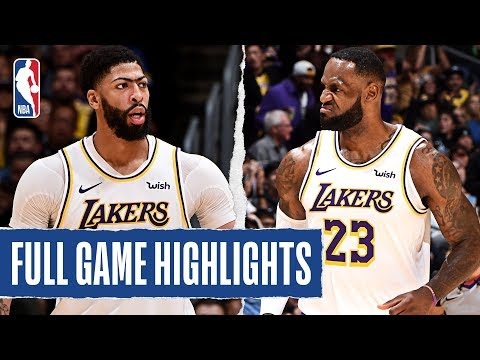 TIMBERWOLVES at LAKERS | FULL GAME HIGHLIGHTS | December 8, 2019
