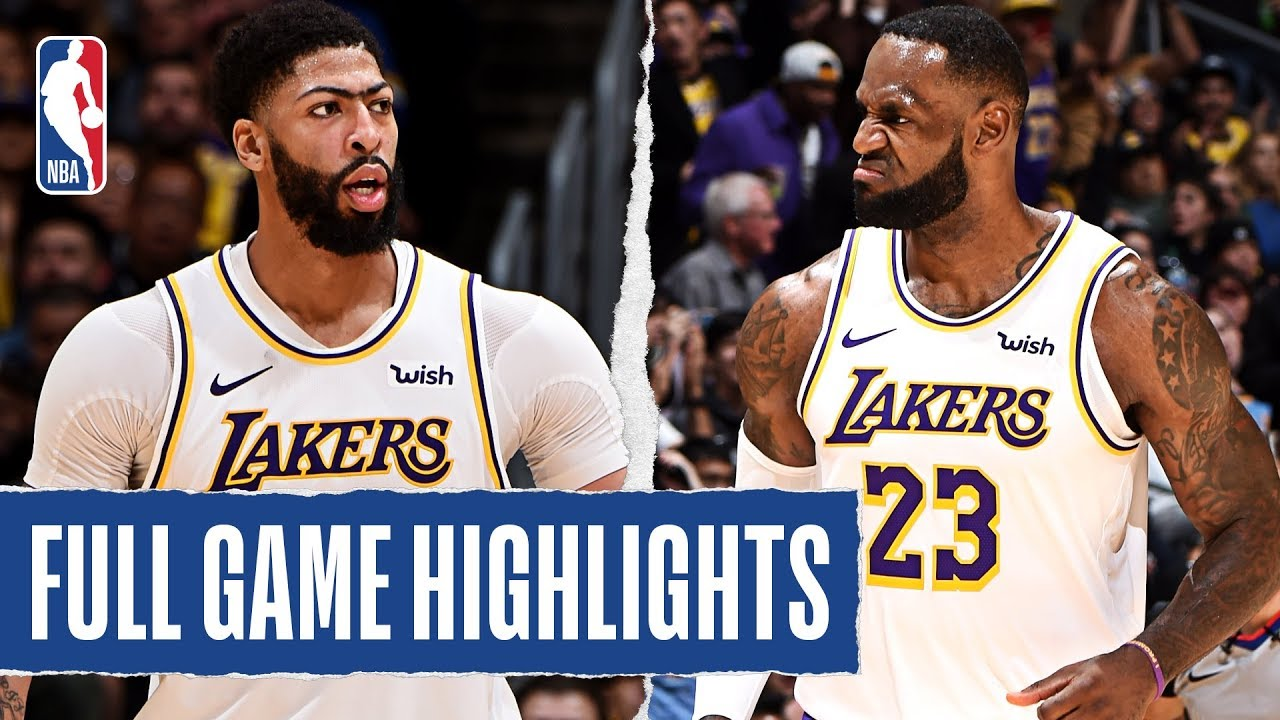 Timberwolves At Lakers Full Game Highlights December 8