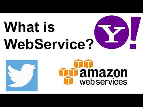 1- What is Web Service ? ماهي ويب سيرفز