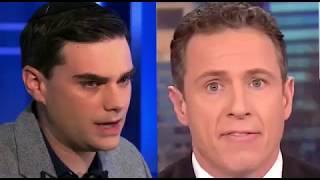 """Chris Cuomo Is RETARDED"" Ben Shapiro CRUSHES Chris Cuomo On Transgender"