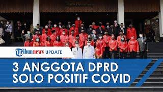 3 Anggota DPRD Solo yang Positif Covid-19 Sempat Hadiri Pelantikan dan Sempat Foto bersama Gibran