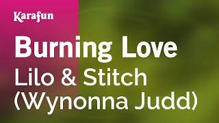 Karaoke Burning Love - Wynonna Judd *